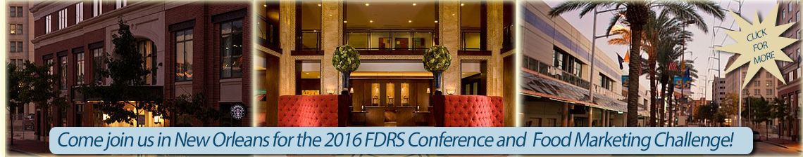 2016 FDRS Annual Conference in New Orleans